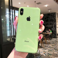 Ultrathin Plating Soft TPU Hybrid Case Cover For iPhone 6s 7 8 Plus XS Max XR