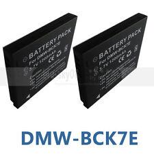 2XBattery for Panasonic DMW-BCK7, DMW-BCK7E, DMW-BCK7PP NCA-YN101G NCA-YN101F