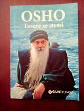 """LIBRO OSHO """"ESSERE SE STESSI"""" COME NUOVO. GRANDE SCONTO."""