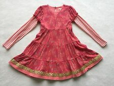 Matilda Jane Friends Forever Persephone Lap Dress Size 8 Tween Ornaments EEUC