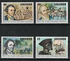 GRENADA:1978 SC#895-98 MNH Bicentenary of Capt. Cook's arrival in Hawaii and 250