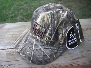 "Banded Gear ""b"" Logo Realtree MAX 5 Camo Cotton Hunting Hat Cap Adjustable NEW"