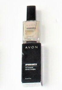 AVON Nail wear glitter revitacool base coat & Mineral Nail Enamel Nail Polish