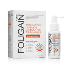 Foligain Men Triple Action Formula for thinning hair 10% Trioxidil (2 fl oz)59ml