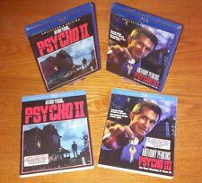 PSYCHO II & III Blu-ray US import Scream Factory region a (rare OOP slipcover)