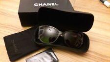 CHANEL 5352 - Sonnenbrille - braun meliert - graue Verlaufsgläser - mit Etui