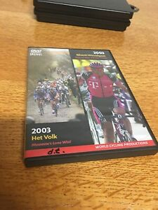 2003 Omloop Het Volk/Ghent Wevelgem World Cycling Productions 2 DVD Very Clean