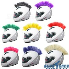 1X Motorcycle Dirt Bikes Atv Ski Snowboard Helmet Colorful Mohawk Hair Punk Hair