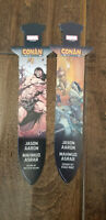 2019 SDCC COMIC CON EXCLUSIVE MARVEL CONAN SWORD SHAPE PROMO CARD BOOKMARK