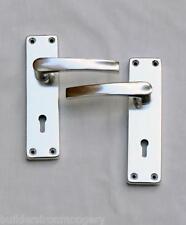 1 par Aluminio Palanca Traba Tiradores con accesorios
