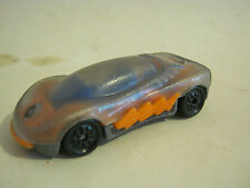 Hot Wheels Orange and Clear sports Car, unknown make, dated 1994  (EB6-3)