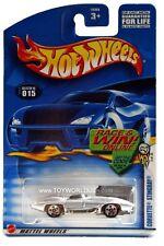 2003 Hot Wheels #15 First Edition #3 Corvette Stingray E910 card