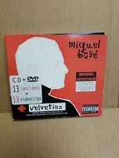 Velvetina [PA] [Digipak] by Miguel Bosé (CD, Feb-2005, WEA Latina)