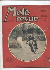 Moto Revue N°837 ; 24  mars  1939  : la gamme Motobécane 1939