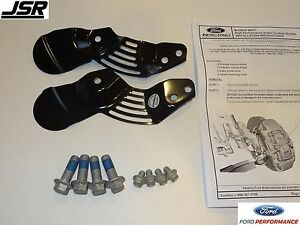 05-14 Mustang Shelby GT500, GT, & V6 Ford Performance Brake Cooling Shields FRPP