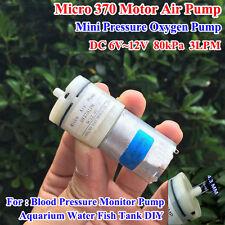 DC 3V-12V 5V 6V Small Mini 370 Motor Air Pump Oxygen Pump Aquarium Fish Tank DIY