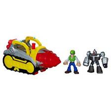 Playskool Heroes Transformers Rescue Bots Tunnel Drill Set Morbot Graham