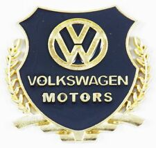 Volkswagon Metal Decal Badges for the Wings of your Car. (A Pair of Badges)