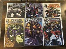 Lot of 6 Transformers Generation One #1 2 3 4 6 Armada #1 Dreamwave (2002)