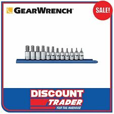 "GearWrench 12 Piece 3/8"" Drive Metric Hex Bit Socket Set - 80580"