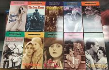 Master Piece Collection of B&W Silent Films | Lot of 10 | VHS | SHIPS Fast