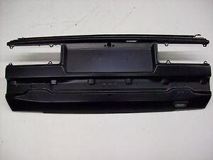 Heckblech Heckschürze BMW 300Serie E30 82-90 VFL Cabrio
