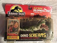 Jurassic Park Electronic Dilophosaurus Spitter Dino Screams Dinosaur MOC Kenner