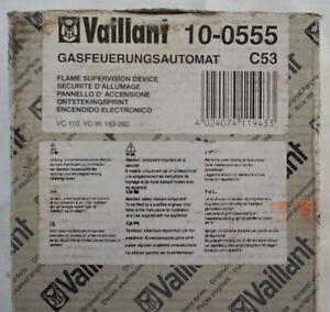 Vaillant 100555 Gasfeuerungsautomat, VC 110 E, VC 110 XE, NEU OVP