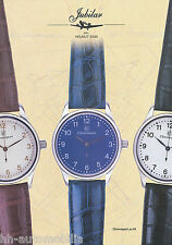 Prospekt Jubilar Chronosport 31.HS H. Sinn 2002 Uhrenprospekt Chronograph Uhr
