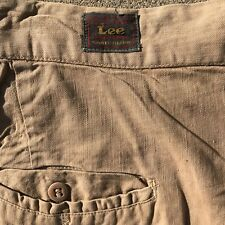 1950s LEE Union Made Sanforized Fade Proof Work Pants Button Fly Big Man Size
