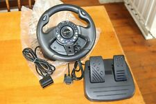 4Gamers PS2 Playstation 2 Steering Wheel & Pedals PS1 4 Gamers SPC2135