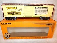 Lionel 6-9434 Joshua Lionel Cowen single door boxcar - diecast trucks-never used
