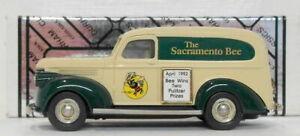 Durham 1/43 Scale DUR 19 - 1941 Chevrolet Panel Van Sacramento Bee 1 Of 200