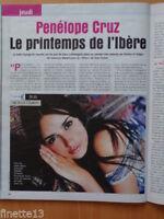 PENELOPE CRUZ Coupure de presse 1,5 pages 2003 – French clippings