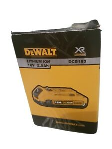 Dewalt 18v battery 2.0ah.dcb 183