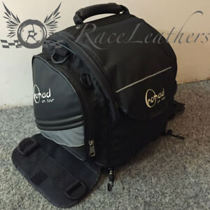 CHEAP SALE NOMAD SOFT BLACK MOTORCYCLE MOTORBIKE LUGGAGE TAIL PACK BAG + STRAPS