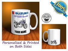 Suzuki GSF1250S Bandit Motorbike Personalised Ceramic Mug Gift (MB093)