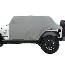 Smittybilt 1069 Cab Cover W/Door Flap - Water Resistant - Gray