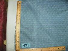 Blue Small Shell Print Upholstery Fabric 1 Yard  R474