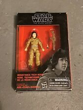 Star Wars Black Series Resistance Tech Rose 3.75-inch, New and Sealed!