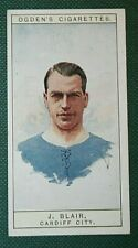 Cardiff City Blair ORIGINALE 1926 Vintage Football Card