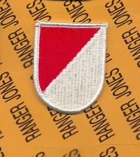 17th Cavalry Regiment Airborne beret flash patch m/e Type 4