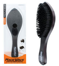 Magic Wave Brush Hard Premium Boar Bristles Wooden Handle Quality WBR001H NEW
