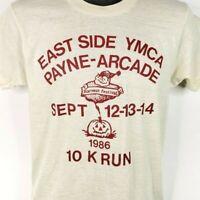 Payne Arcade Harvest Festival 10K T Shirt Vintage 80s YMCA Made In USA Medium