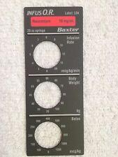 Baxter Bard Infus O.R. Smart Label, Rocuronium, Label: L04