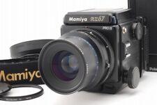 N MINT MAMIYA RZ67 PRO II w/SEKOR Z 90mm F3.5 W,120 FILM BACK,POLAROID, JP Z406