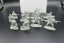 Classic Toy Soldiers WWII Italian Infantry 12 figures 6 poses CTS 1/32 Gray lot