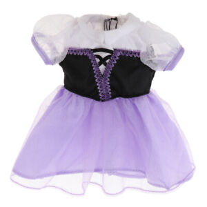 Lovely Doll Outfit Dress Skirt Frock for 10 inch Mellchan Dolls Clothing