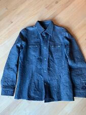 Diesel Men's Leather Jacket/Shirt