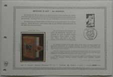 Document Artistique DAP 466 1er jour 1981 Métiers d'Art La Reliure